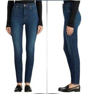 J Brand Carolina High Rise Skinny Blue Jeans 25